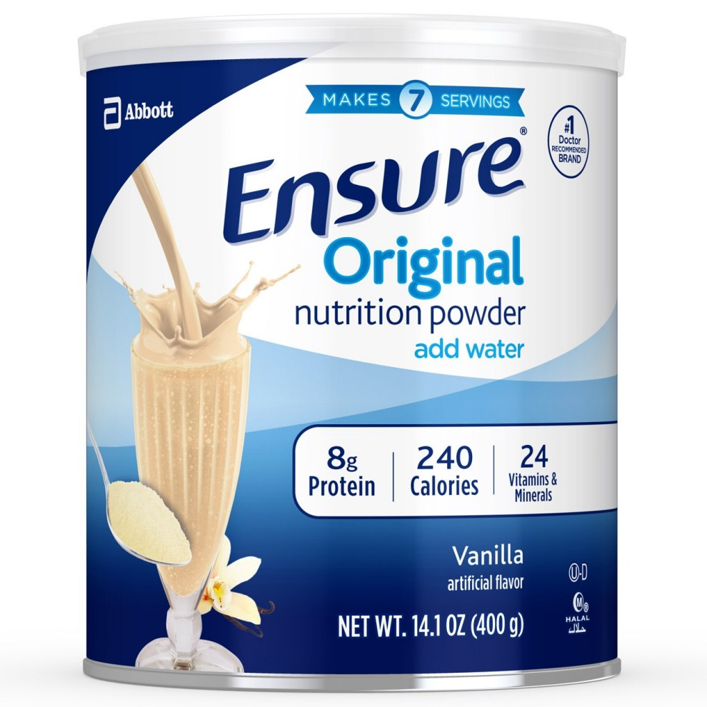 Sữa bột Ensure Original Nutrition Powder hộp 400g