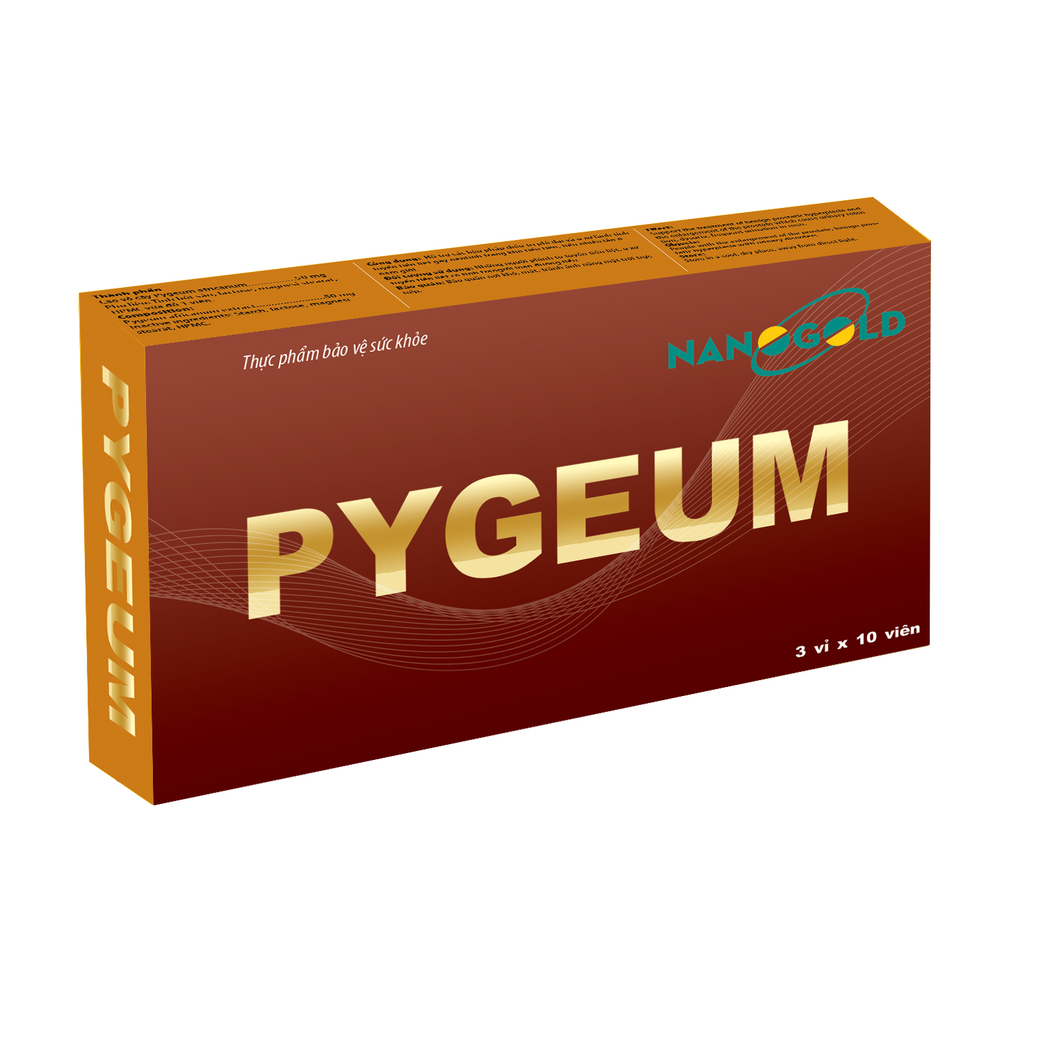 Tiền Liệt Tuyến Pygeum – Hỗ Trợ Điều Trị Tiền Liệt Tuyến
