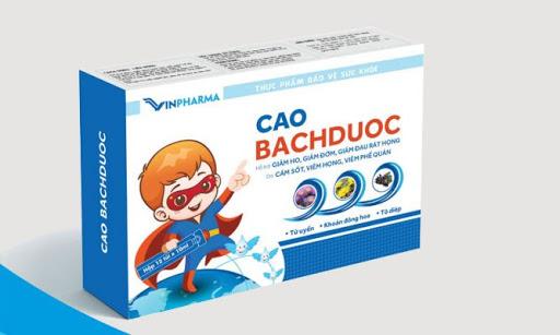 Cao Bachduoc – Bổ phế, giúp giảm ho, long đờm và giảm đau rát họng