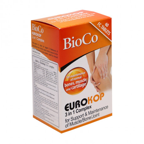 Eurokop – Hộp 120 viên – Hỗ trợ cơ, xương, khớp chắc khỏe