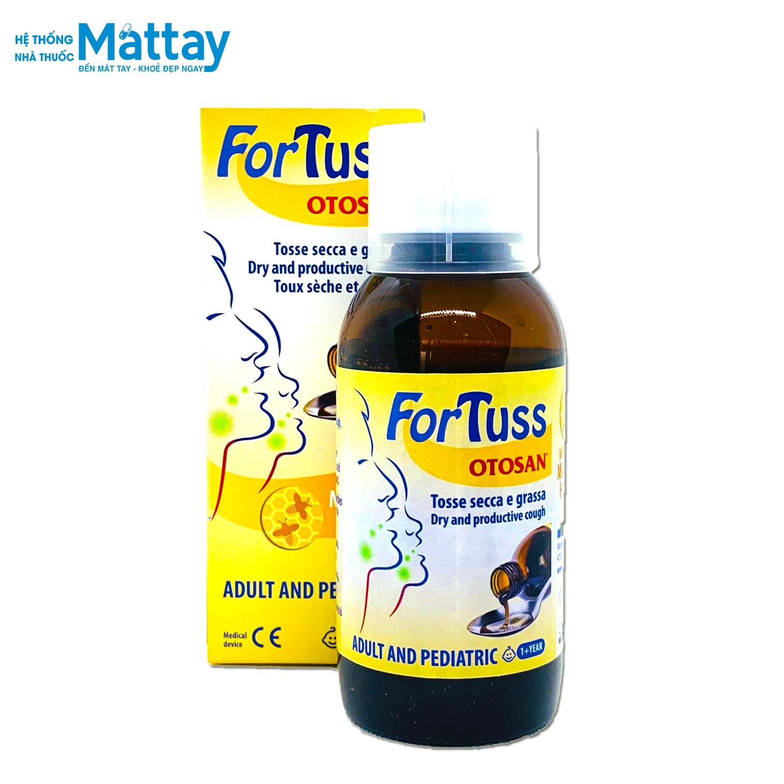 Fortuss Otosan – Làm dịu cơn ho hiệu quả