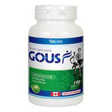 Gousf – Hộp 100 viên – Giúp giảm đau chống viêm xương khớp