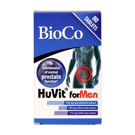 Huvit For Men – Hộp 80 viên – Hạn chế u xơ lành tính tuyến tiền liệt