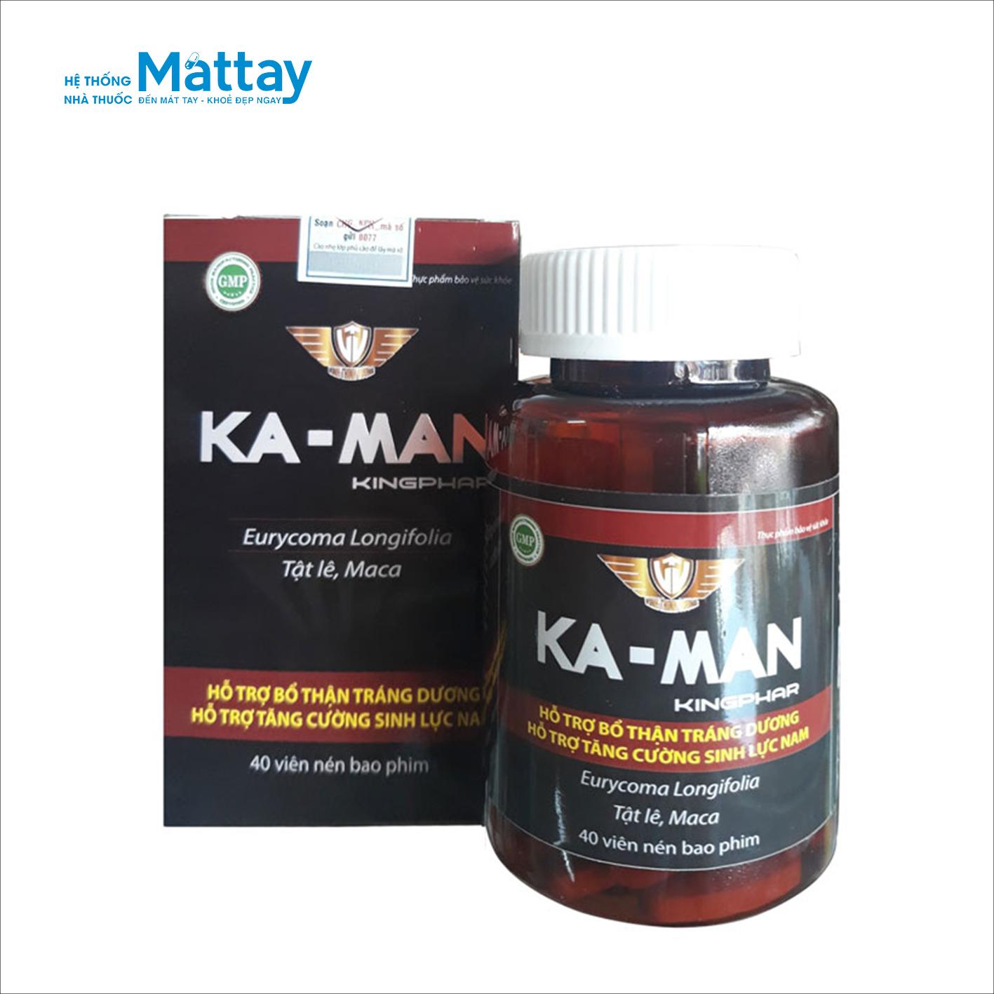 Ka – man Kingphar – Tăng cường sinh lực nam