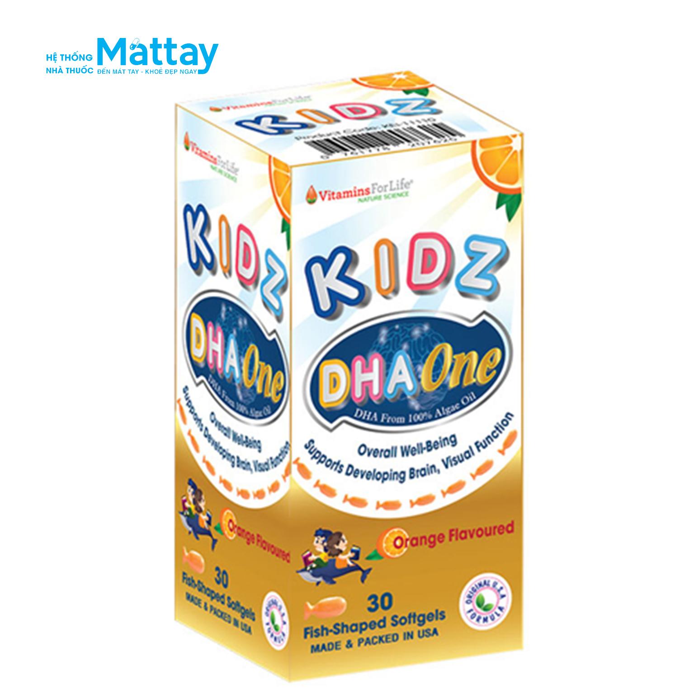 Kidz DHA One Vitamin For Life – Bổ sung DHA cho trẻ