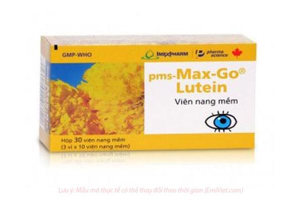 Max-go Lutein – Viên uống bổ mắt