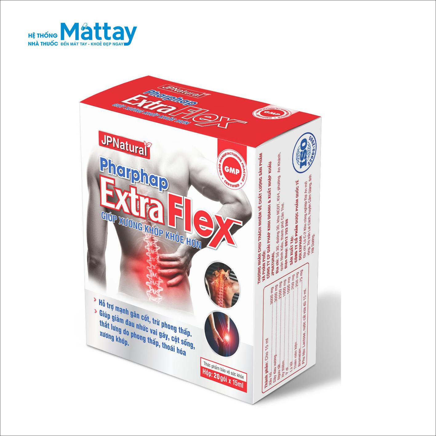 Pharphap Extra Flex – Giúp giảm đau nhức xương khớp