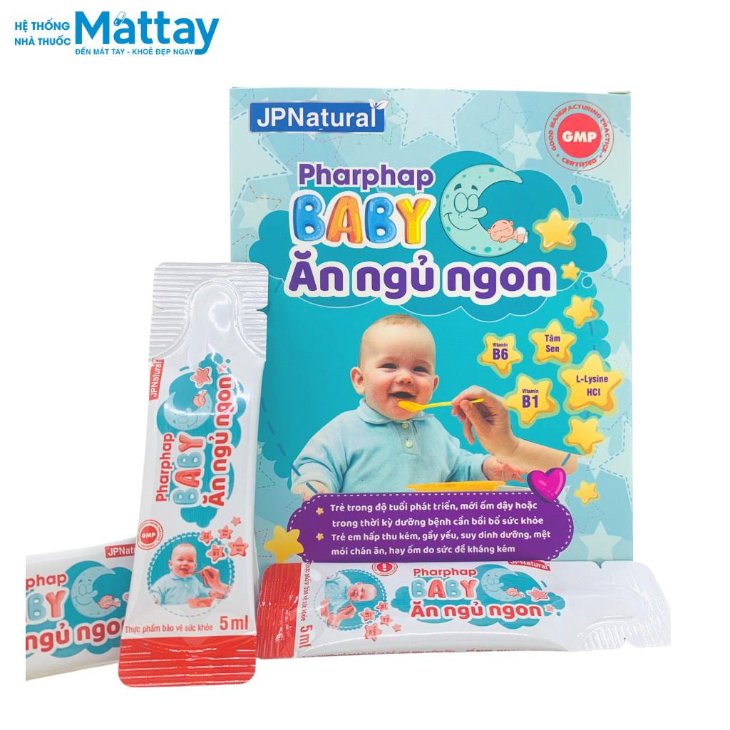 Pharphap Baby Ăn Ngủ Ngon bồi bổ cơ thể , tăng cường tiêu hóa cho bé từ 1 tuổi
