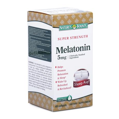 NATURES BOUNTY MELATONIN (5MG)