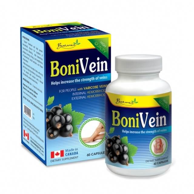 BoniVein – Hỗ Trợ Điều Trị Bệnh Trĩ, Suy Giãn Tĩnh Mạch