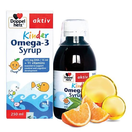 Kinder Omega-3 Syrup-Hỗ Trợ Phát Triễn Não Bộ & Rối Loạn Tăng Động Ở Trẻ